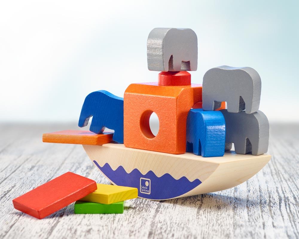 hout evenwichtspel kinderen wip