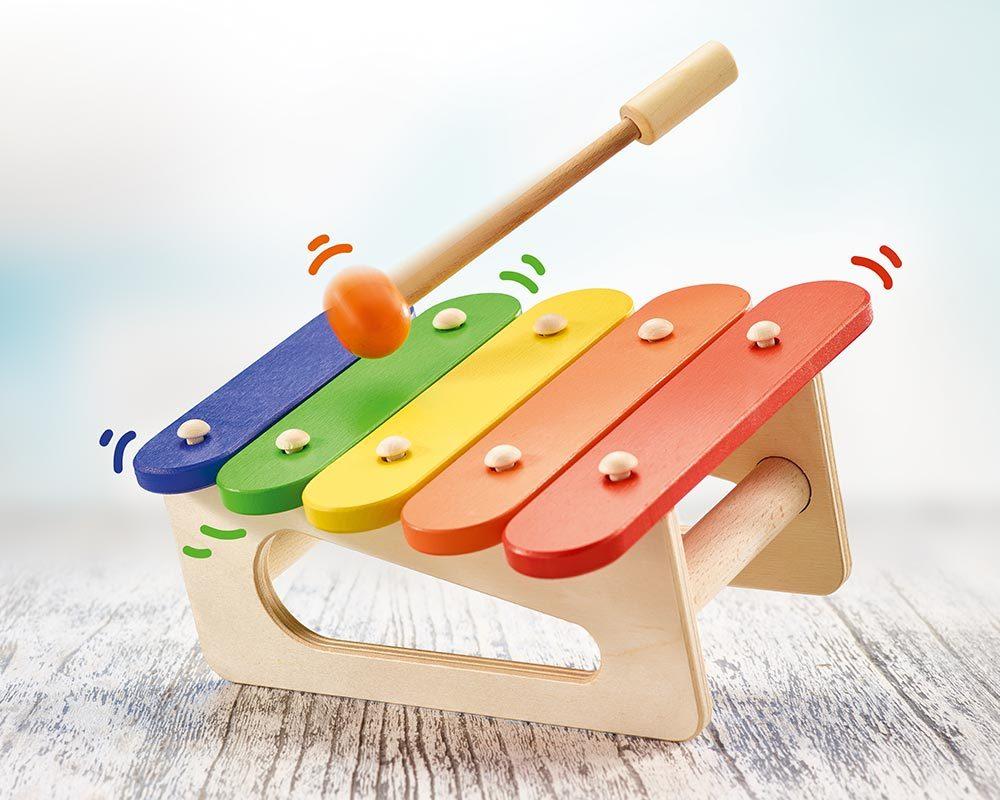 hout xylofoon baby kinderen musico