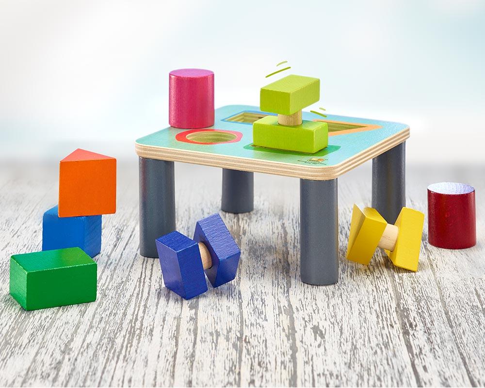 hout sorteerbord sorteerspel