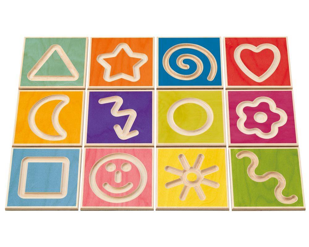 hout educatief spel rugschildering