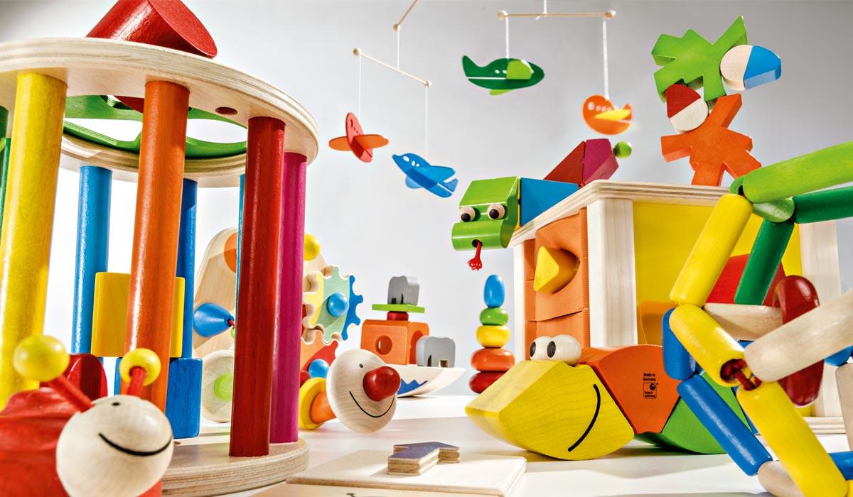 houten speelgoed kinderkamer