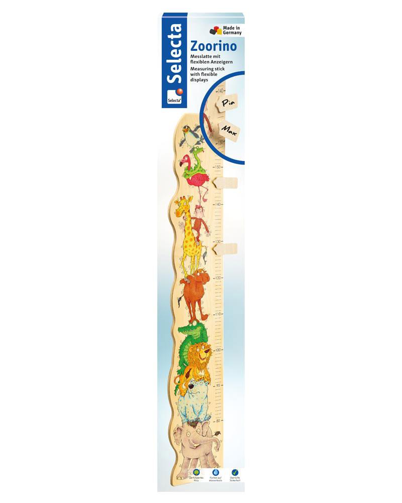 meetlat zoorino houten speelgoed Verpakking