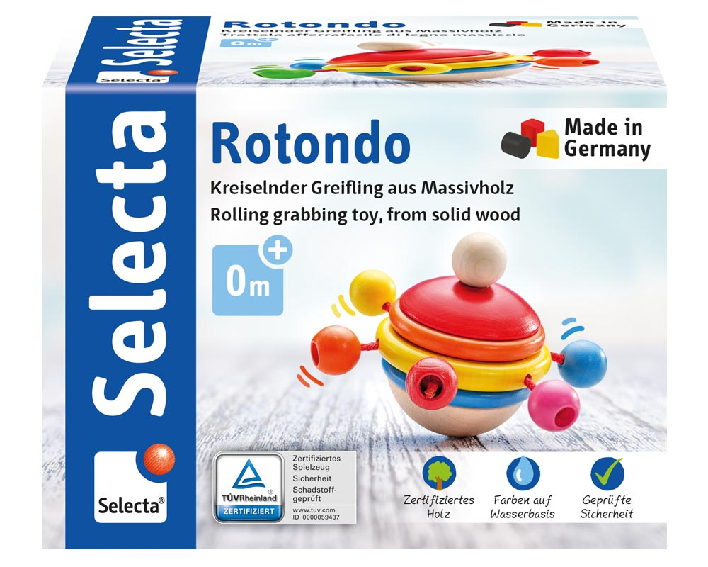 rotondo houten speelgoed Verpakking