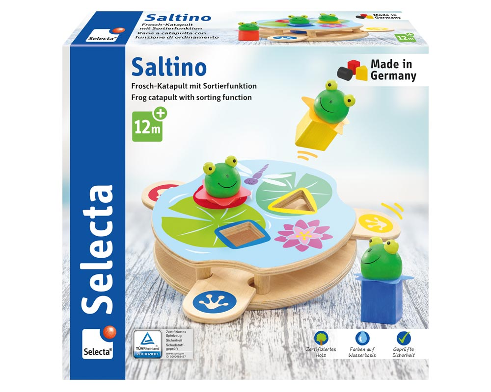 saltino houten speelgoed Verpakking
