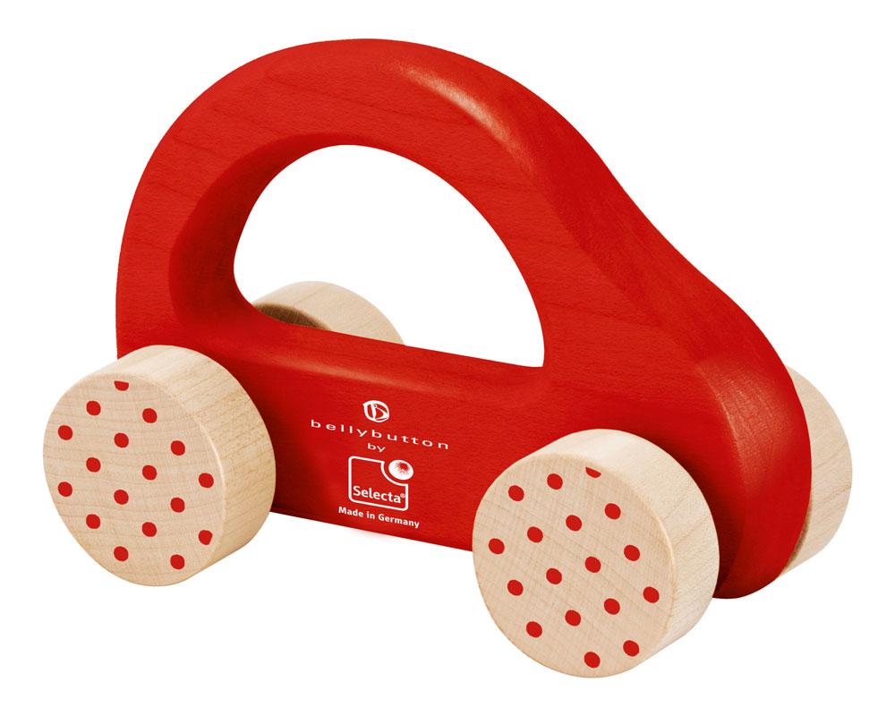 hout rammelaar auto rood bellybutton