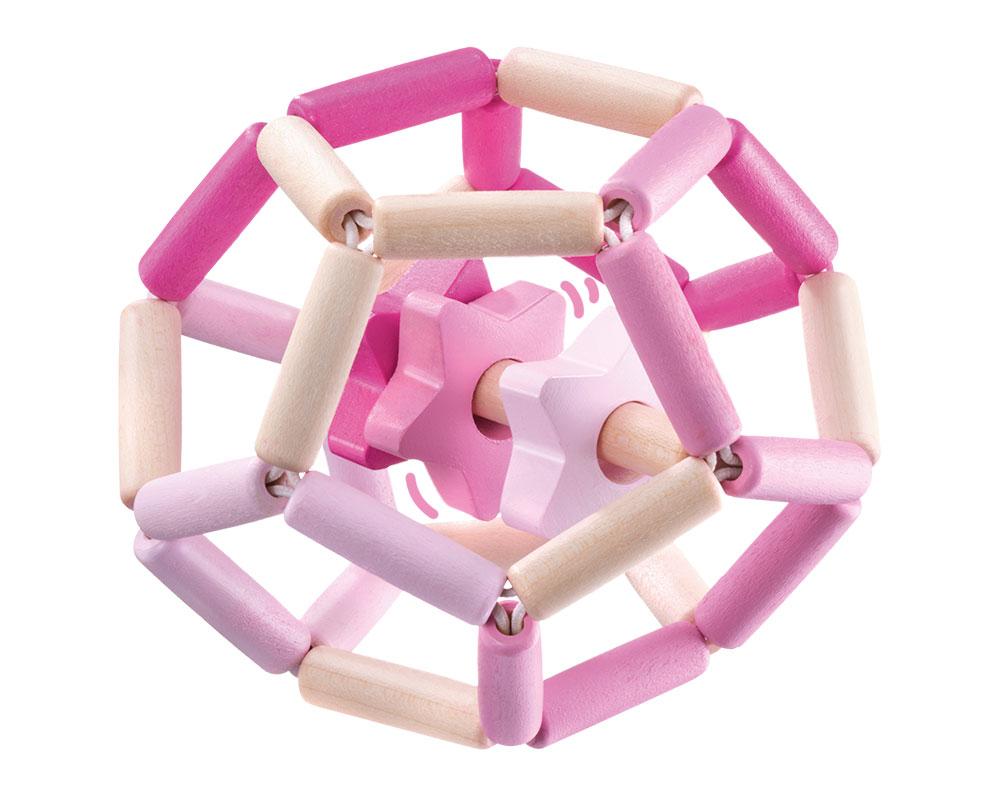Bellybutton sterrendans roze houten speelgoed