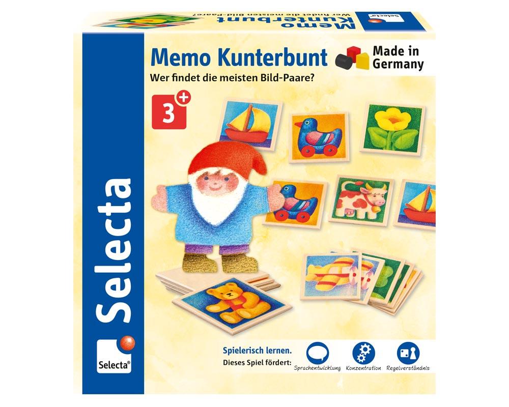 houten speelgoed memo kakelbonte afbeeldingsparen dwerg p